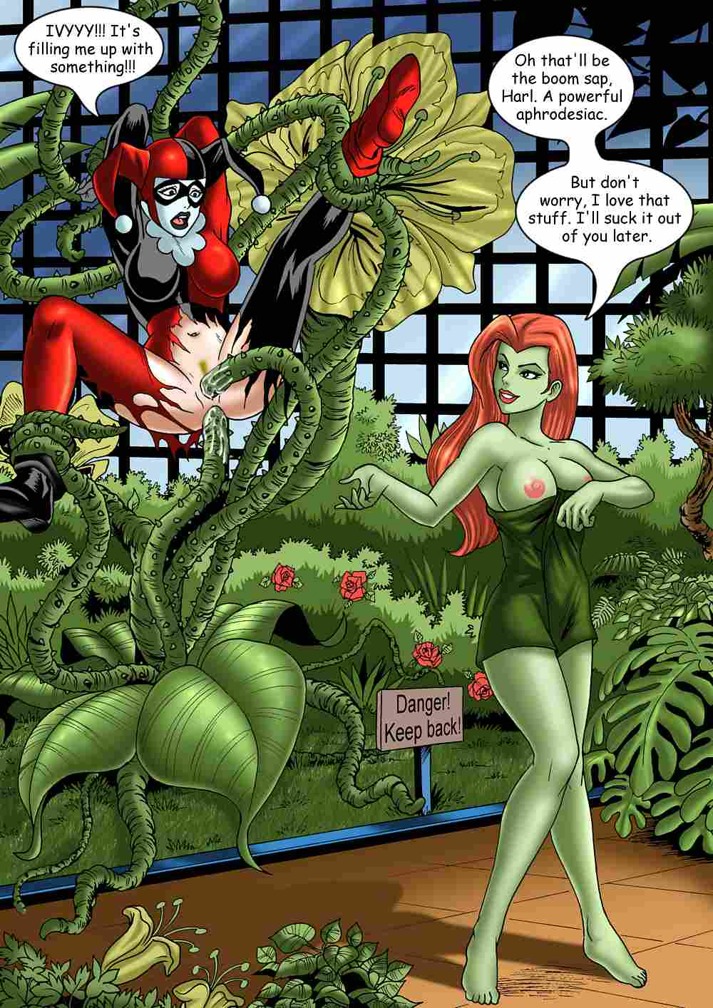 lesbian quinn ivy harley poison Daughters of chaos dark souls