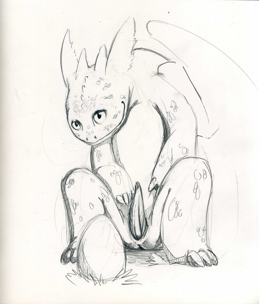 turns into how toothless to train dragon a your dragon fanfiction hiccup Trials in tainted space vanae