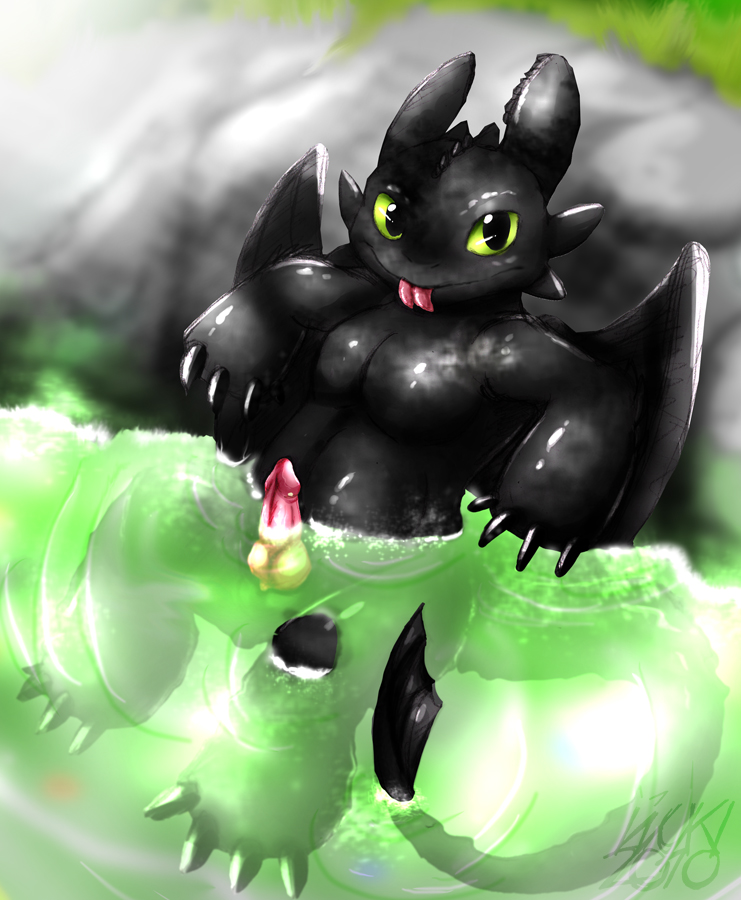 to vore your how dragon train Poof from fairy odd parents