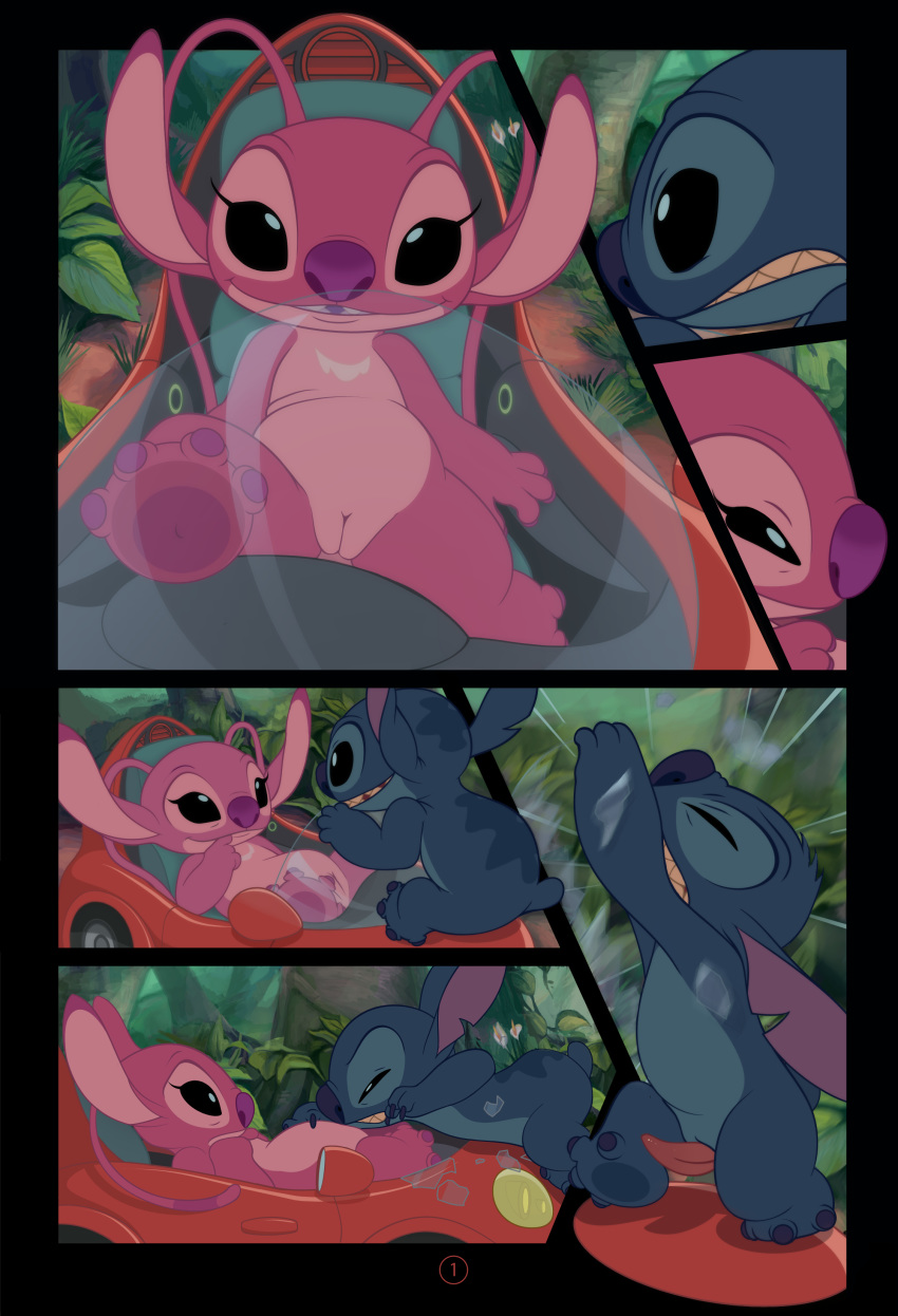 stitch from and lilo angel My everyday life with monsters